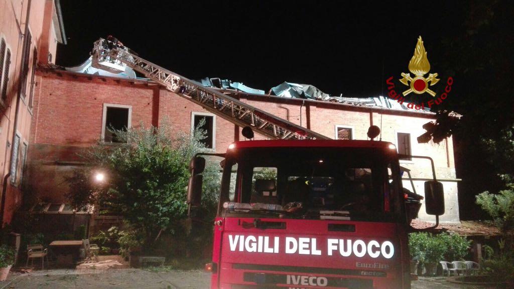 Emergenza maltempo al nord: tromba d'aria in Lombardia